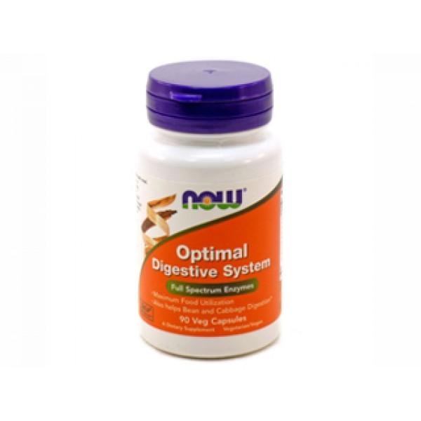 optimal digestive system,комплекс ензими,now foods