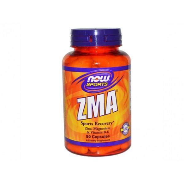 комбинация от,цинк,магнезий,витамин В6,ZMA,now foods
