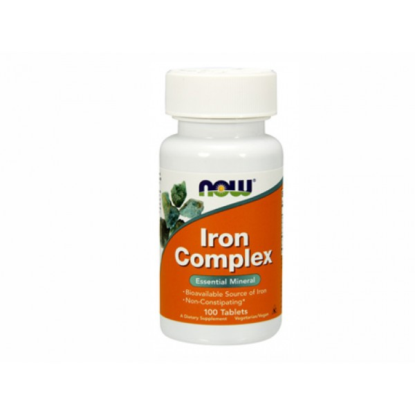 комплекс желязо,iIron complex,now foods,минерал,пренасяне на кислород