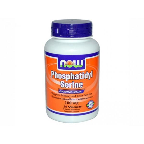 phosphatidyl serine,фосфатидил серин,now foods,мозъчната функция