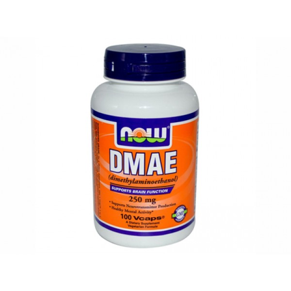 DMAE,ДМАЕ,диметиламиноетанол,now foods,нервната система