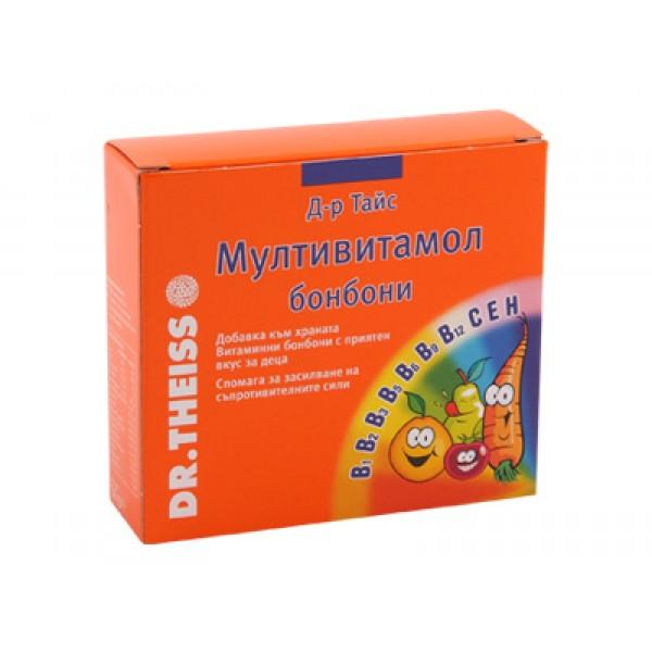 мултивитамол бонбони, доктор тайс