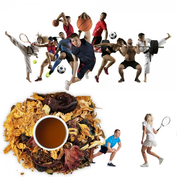 чай за активния човек, спортисти
