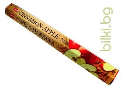 ароматни пръчици, инсенс, ябълка и канела