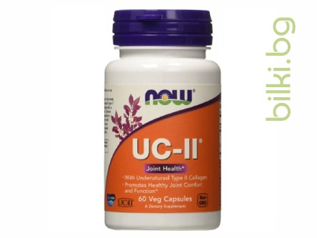 UC-II Type II Collagen,неденатуриран тип II колаген,now foods