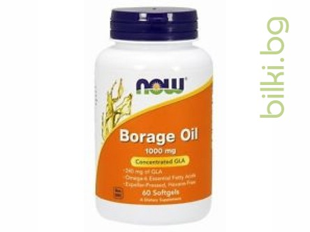 пореч,borage oil,now foods,понижаване на холестерола