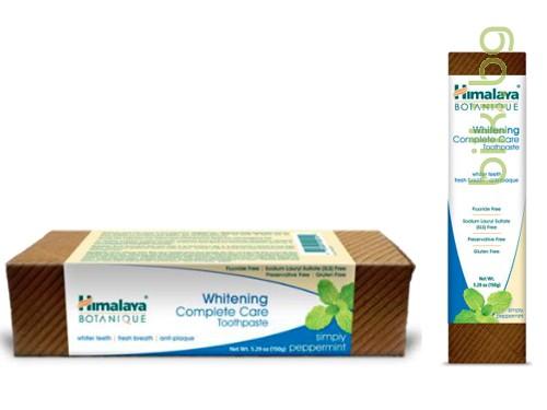 паста за зъби, himalaya, botanique, whitening