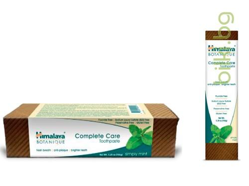 паста за зъби, himalaya, botanique, complete care