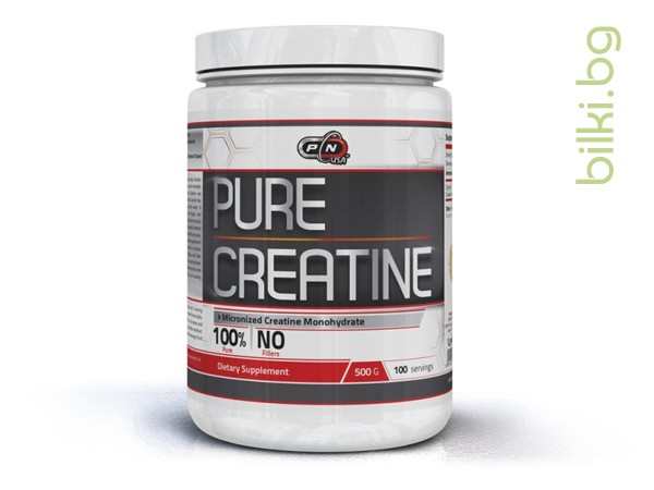 100% pure creatine, спортни добавки