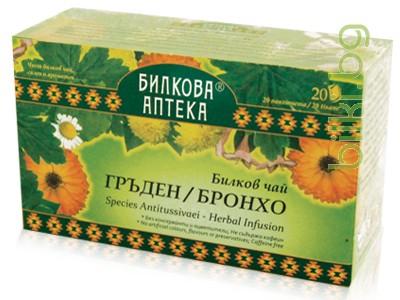 гръден, бронхо билков чай