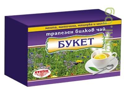билков чай,букет