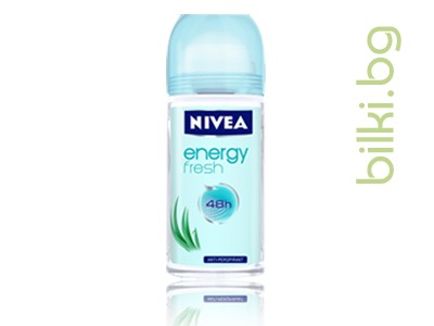 NIVEA ENERGY FRESH ДАМСКИ РОЛ-ОН, 50мл