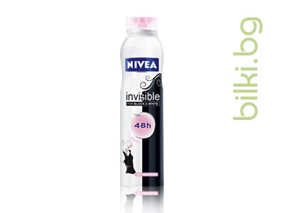 NIVEА ДЕО INVISIBLE BLACK&WHITE CLEAR ДАМСКИ СПРЕЙ