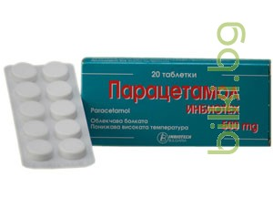 ПАРАЦЕТАМОЛ ИНБИОТЕХ - при главоболие и мигрена