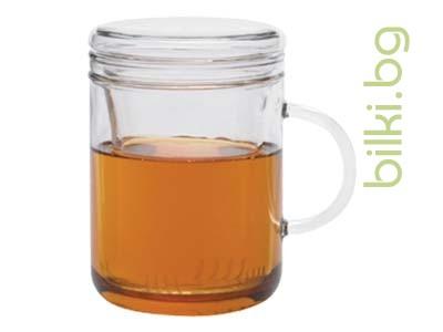 ZYCLO чаша за запарка 0,3 л с капаче и филтър