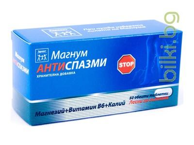 магнум антиспазми, натурпродукт