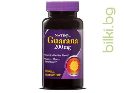 гуарана,хранителна добавка