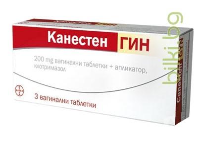 канестен,канестен гин,вагинални таблетки