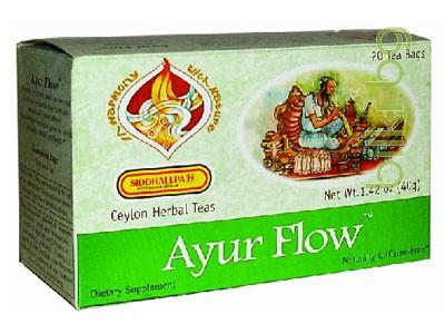 чай аюр флоу за изчистване на токсините