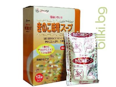 японска мисо супа с гъби