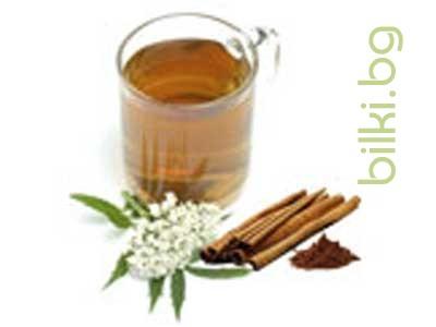 успокоителен чай, билки за нерви,валериана и канела чай