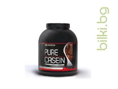 pure casein double chocolate, протеини