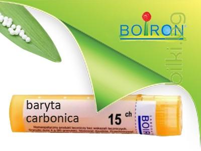 барита, baryta carbonica, ch 15, боарон