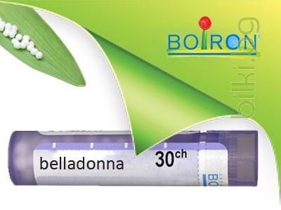 belladonna ch 30, boiron