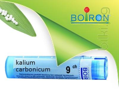 kalium carbonicum, boiron