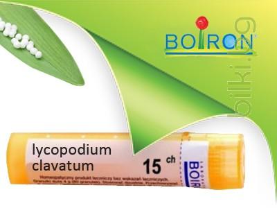 lycopodium clavatum, boiron