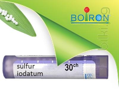 sulfur iodatum, boiron