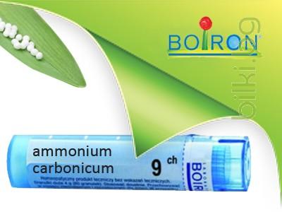 ammonium carbonicum, boiron