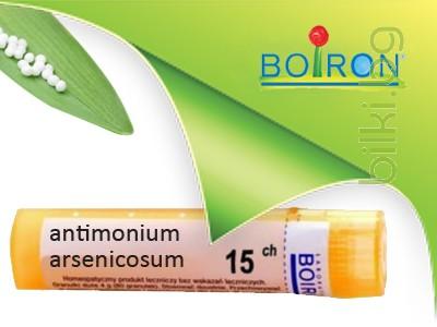 antimonium arsenicosum, boiron