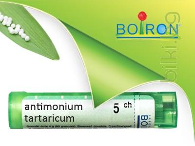 antimonium tartaricum, boiron
