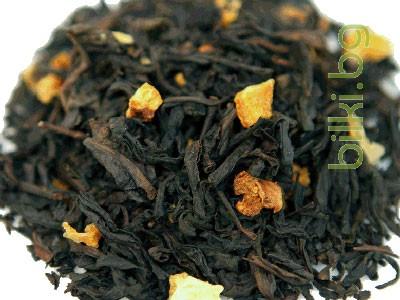 черен чай с портокалови корички