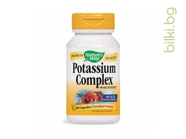 Калиев комплекс/ Potassium complex 99 mg x 100 капс.