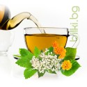 Нежен и ароматен успокояващ чай със бъз цвят, маточина и други билки.