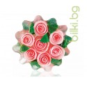 Глицеринов сапун, Rose Fantasy, кошница - циклама, 120 гр