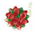 Глицеринов сапун, Rose Fantasy, кошница - червен, 120 гр