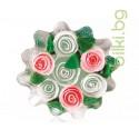 Глицеринов сапун, Rose Fantasy, кошница – циклама-бял, 120 гр