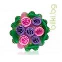 Глицеринов сапун, Rose Fantasy, кошница, лилаво-циклама, 120 гр