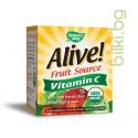 Алайв Витамин С – organic, 500 mg 120гр пудра, Nature`s Way