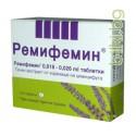 ремифемин 100 таб - при оплаквания в климактериум