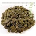 Сурово белено тиквено семе - тиквени семки - тиква семе - насипно , Cucurbita рeрo