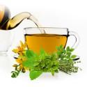 Планински чай от горски билки, освежаващ трапезен чай за цялото семейство, детски чай