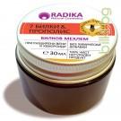 Мехлем 7 БИЛКИ с прополис при разширени вени и хемороиди, RADIKA, 30 мл