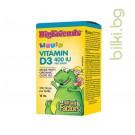 Течен витамин Д3 Big Friends, Natural Factors, 400 IU