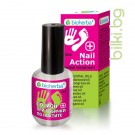 ЛОСИОН ЗА НОКТИ ПРИ ГЪБИЧКИ, Nail Action с етерични масла за красиви нокти - 18мл, BIOHERBA