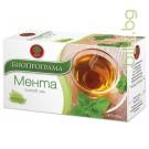 чай мента, биопрограма