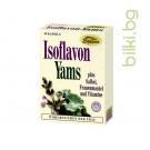 изофлавон, ямс, растителни капсули, женската полова система